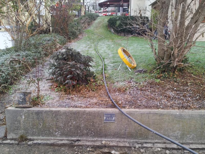 Fiberglasrute, fibre glass stick © TERRA AG, Reiden, Switzerland