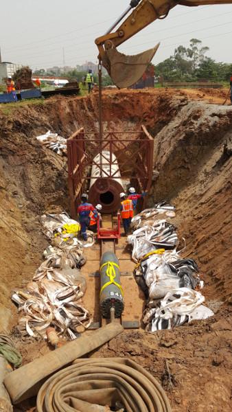 Колосок из стали – стальной молот TR 565 успешно забивает в Уганде, Рис 5