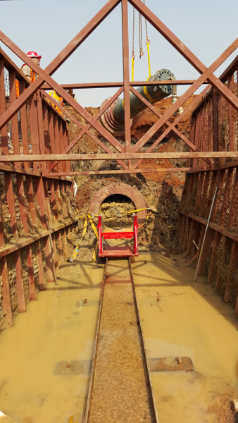 Колосок из стали – стальной молот TR 565 успешно забивает в Уганде, Рис 7