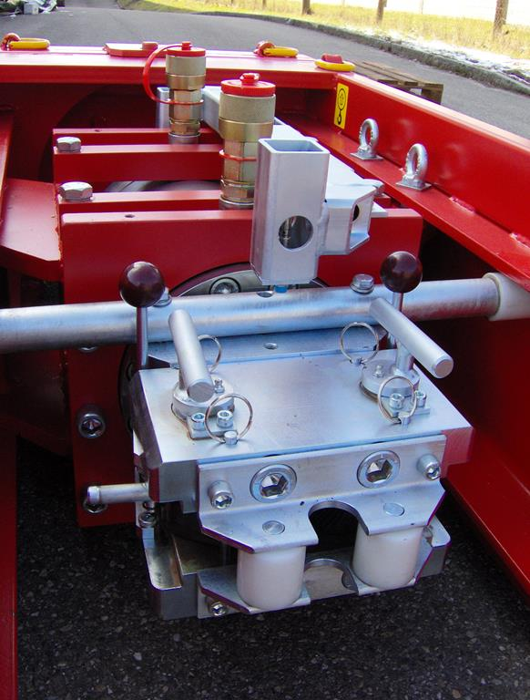 Automatic clamping system