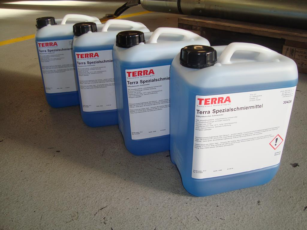 TERRA oiler and special oil